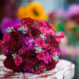 Hot Pink & Red Wedding Bouquet Ideas   Bernardo's Flowers Inc.