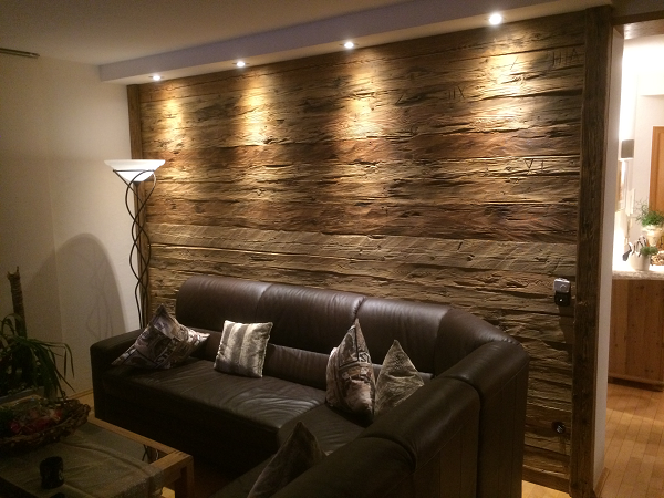 Holz Wand Wohnzimmer   Altholz wandverkleidung, Holzwand, Holzwandverkleidung