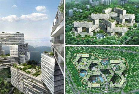 Singaporean residential complex by OMA