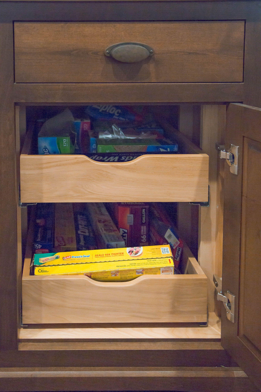 Base Cabinet Rollout Shelves