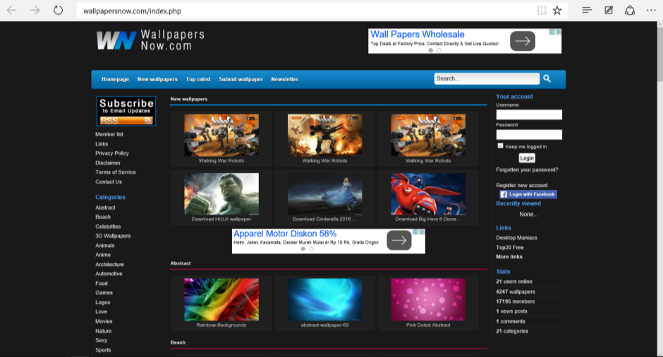 Situs Download Wallpaper Hd Keren Dan Gratis Untuk Pc Laptop