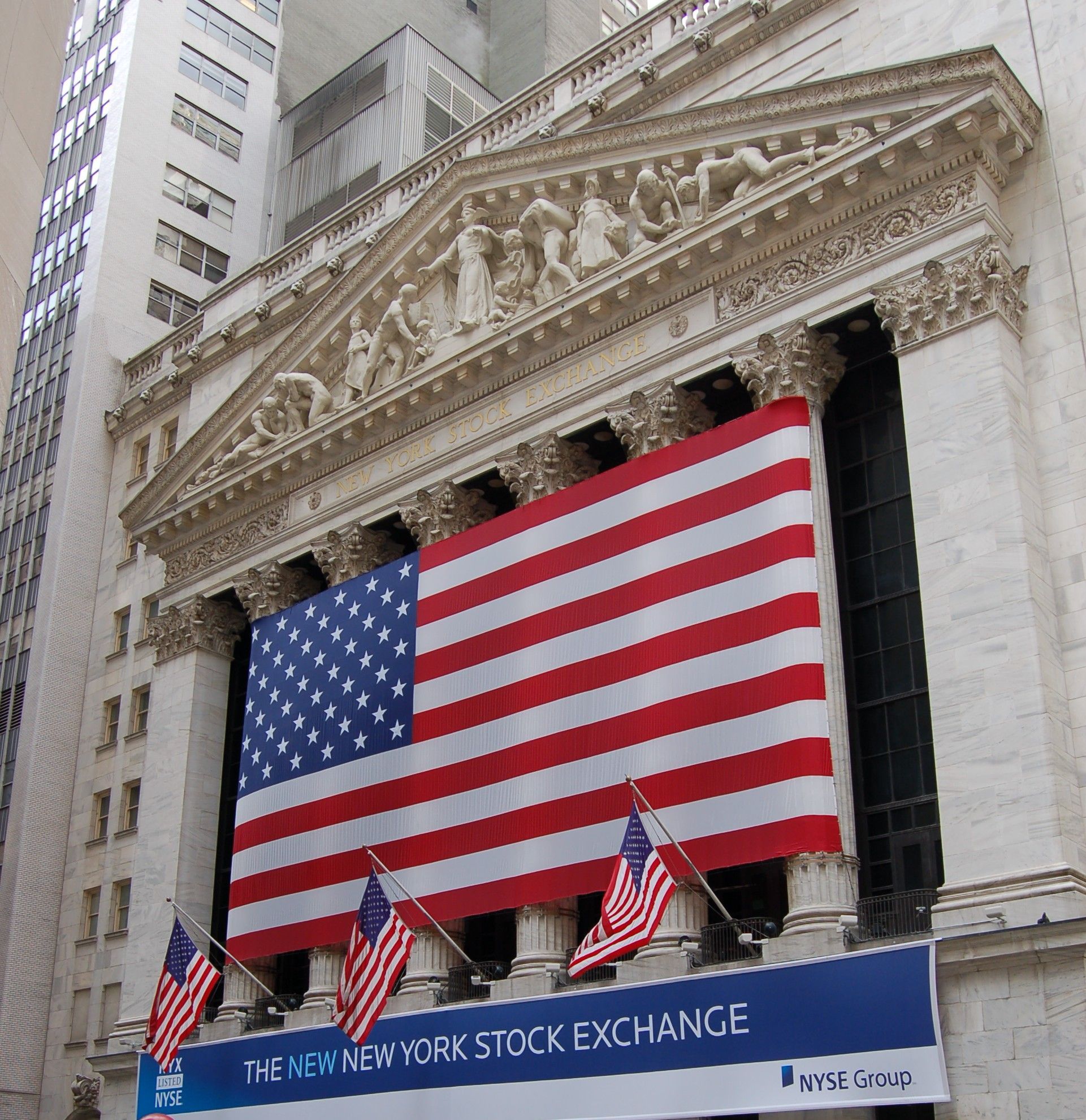 N Y C 2002 New York Stock Exchange Wall St Wall Street Stock Market Stock Exchange New York