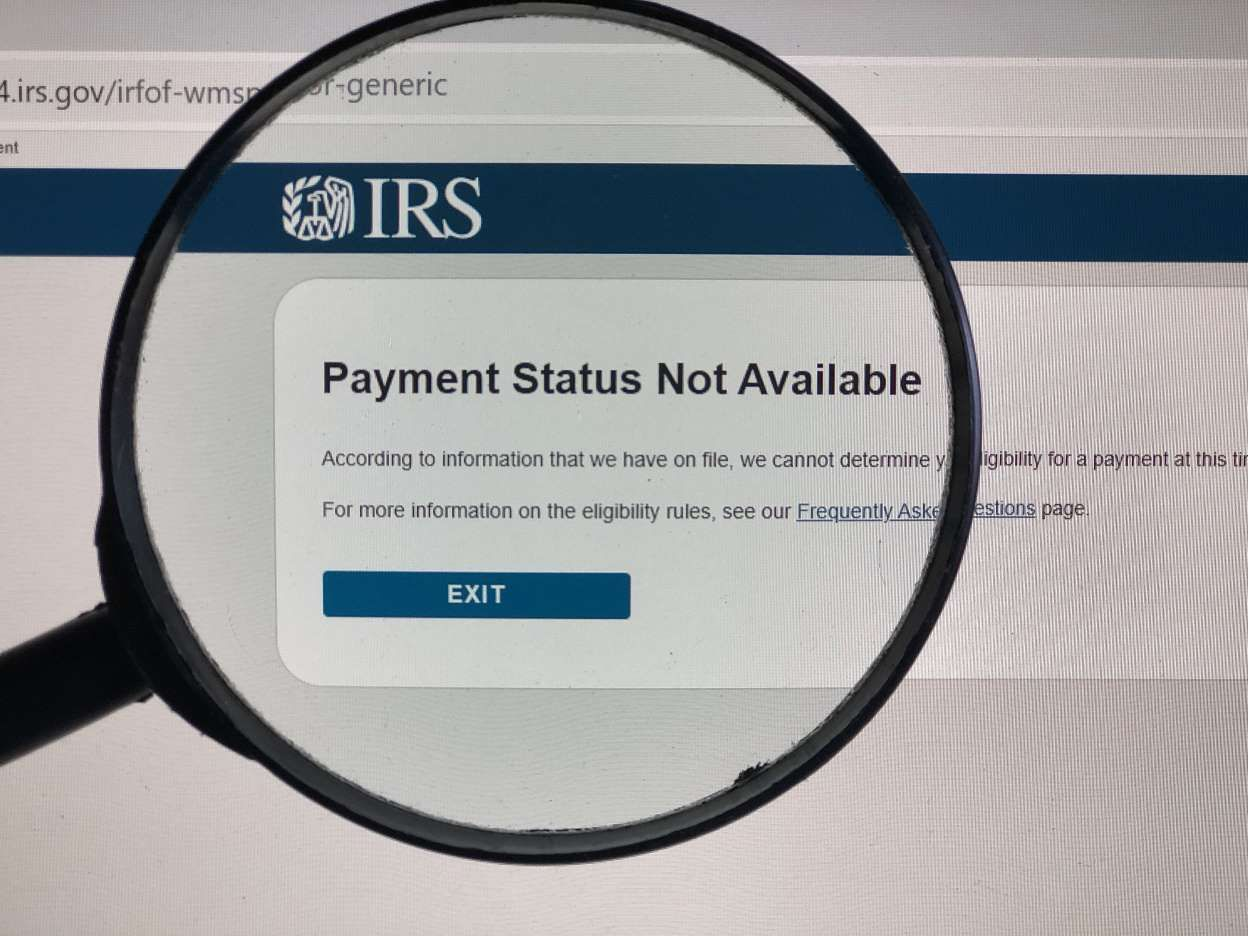 Having trouble with the IRS site? Try all caps — yes