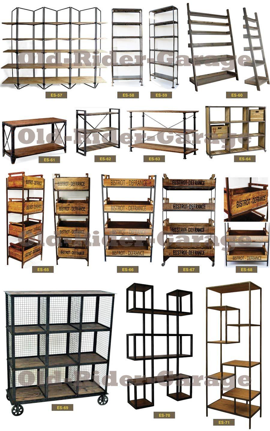 Oldridergarage muebles vintage industrial chic in