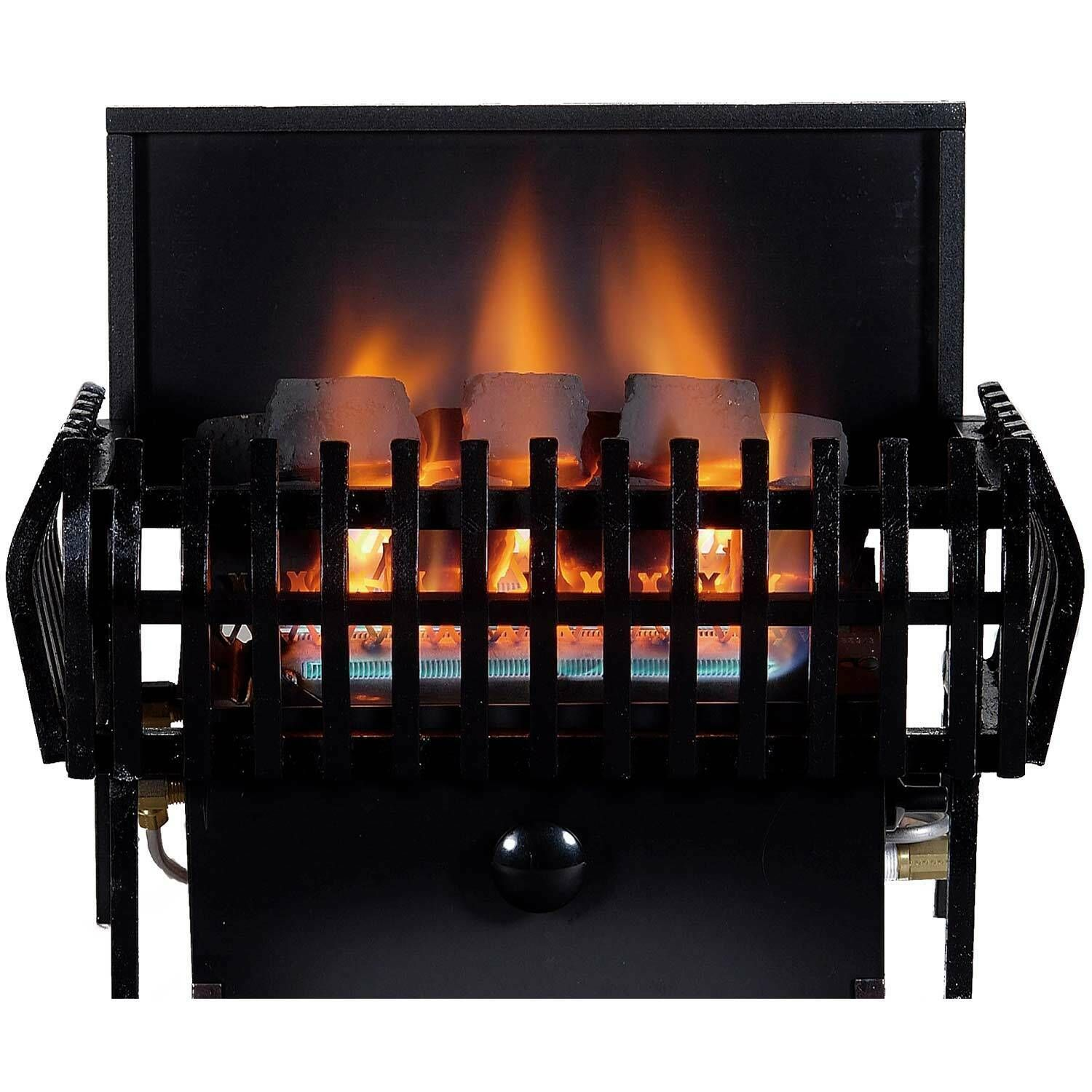 Rasmussen Coalfire Small Classic Basket Vent Free Fireplace Heater Manual Safet Ebay Fireplace Heater Gas Log Sets Vent Free Gas Fireplace