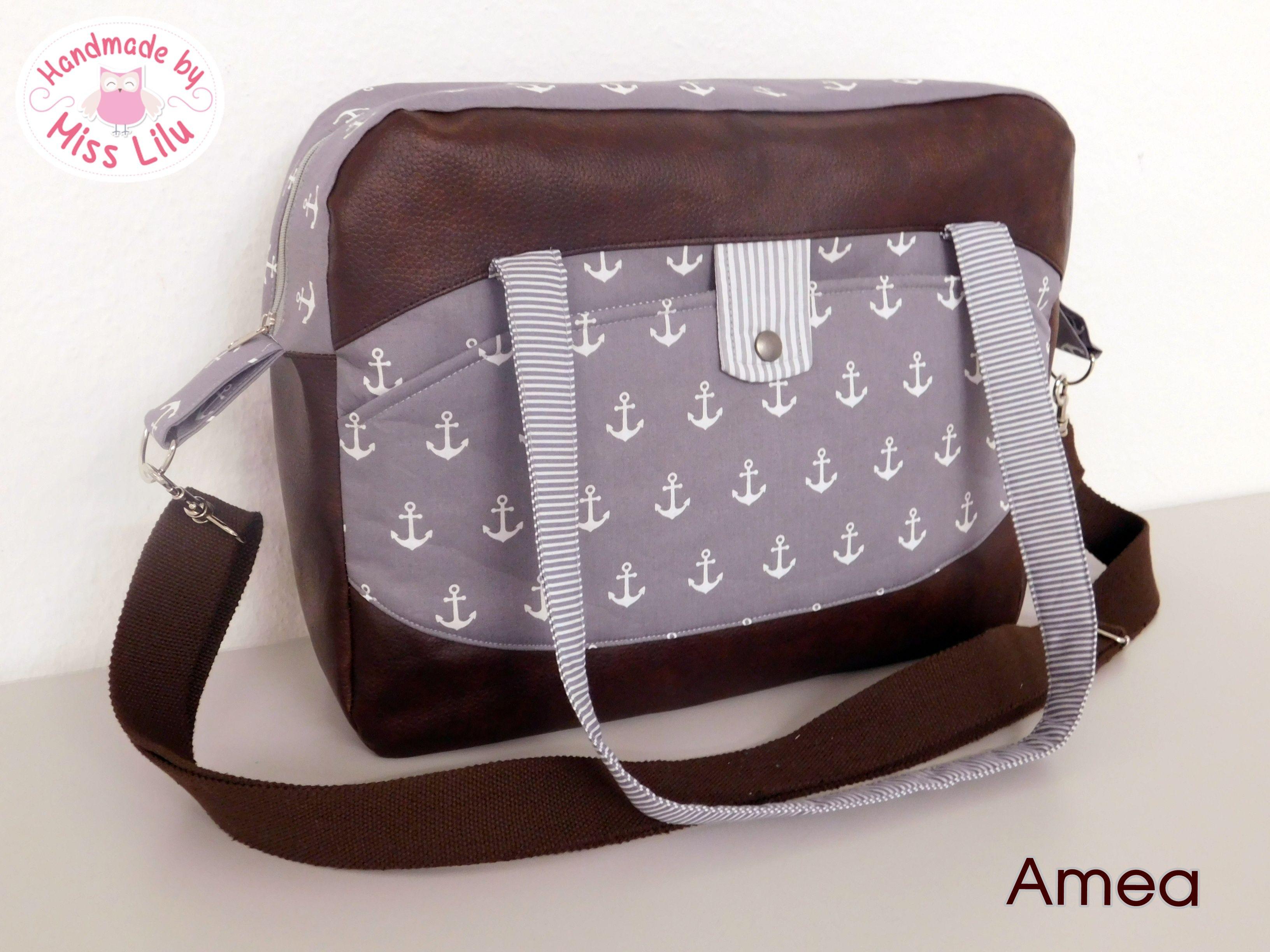 Tasche Amea Ebook Von Handmade By Miss Lilu Taschen Projekte