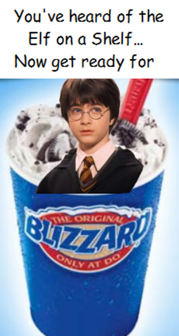 Wizard In A Blizzard You Ve Heard Of The Elf On The Shelf Really Funny Memes Funny Relatable Memes Funny Memes