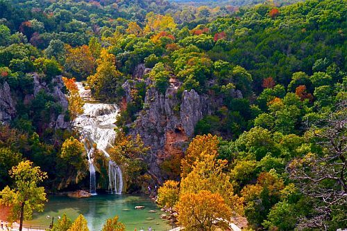 Turner Falls In The Arbuckle Mountains  Cabin/house/lake Properties