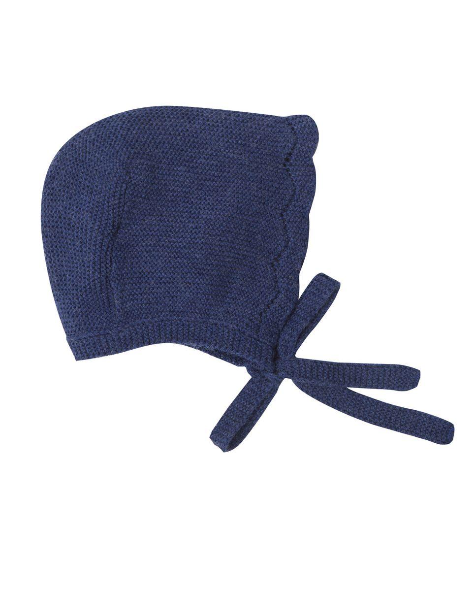 Gorro de bebé niña Pili Carrera de punto en color azulón · Moda · El Corte a4cbe5b7e1f