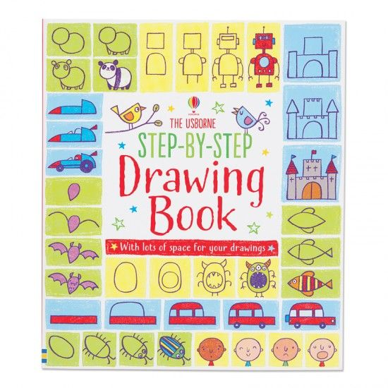 Step By Step Drawing Book Step By Step Drawing Drawing Books For Kids Drawing Book Pdf
