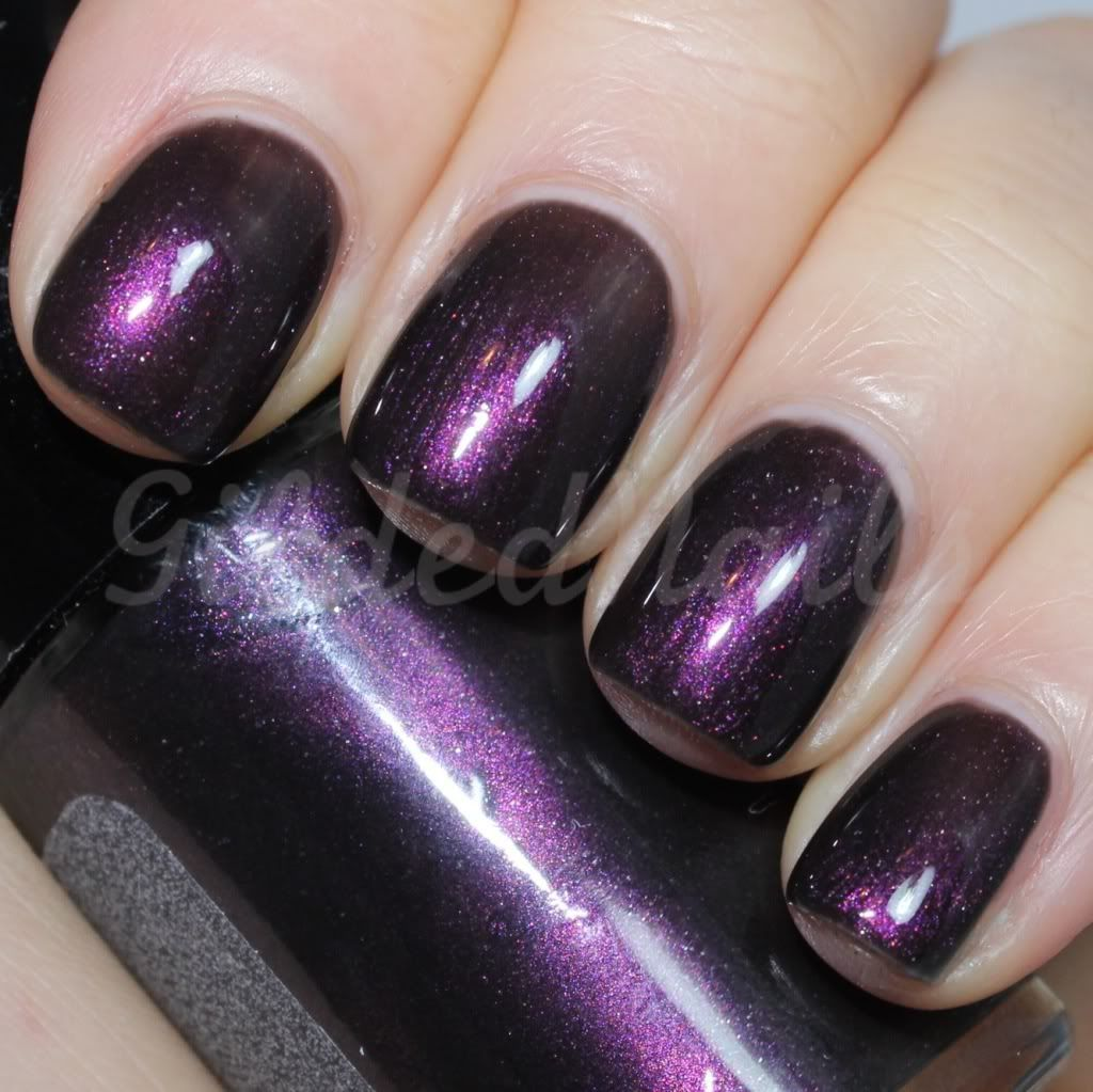 Purple wins my heart! Cult Nails Enigmatic (Gilded Nails) #CultNails #JointheCult