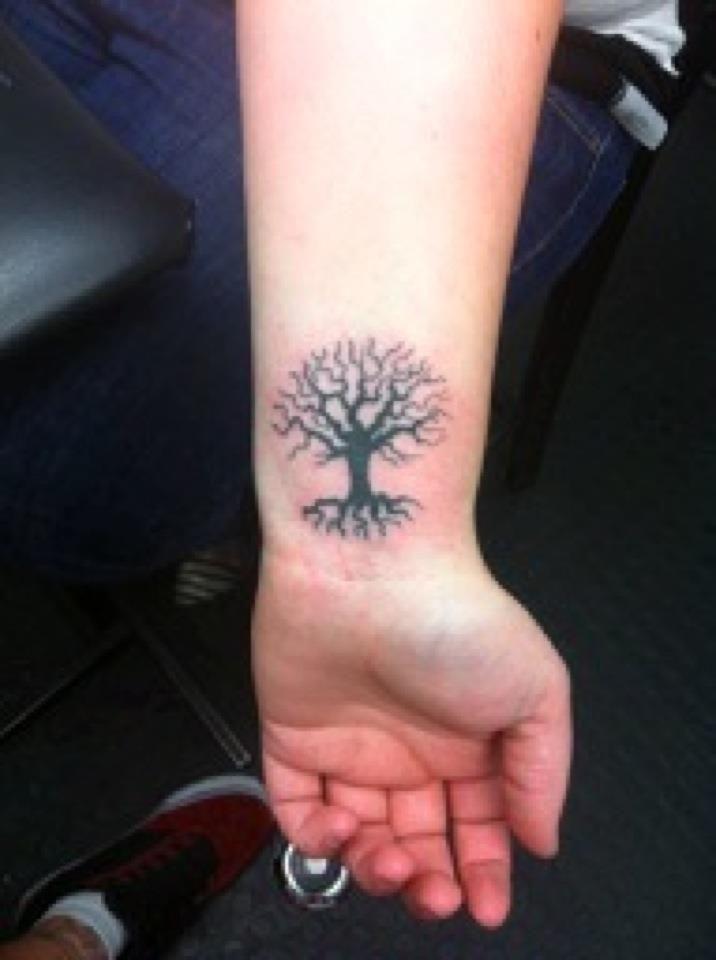 Small Tree Of Life Tattoo: Tree Of Life Small Tattoo - Google Search