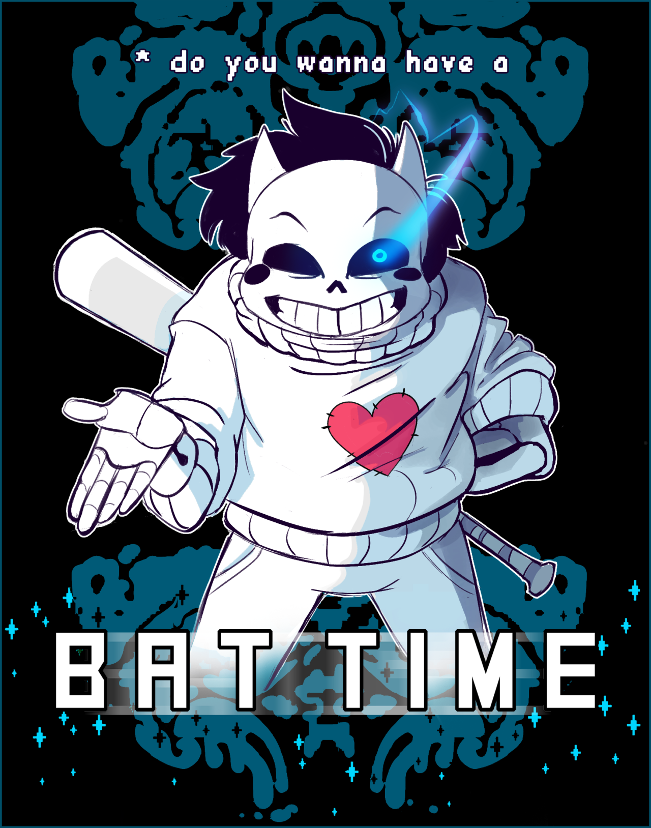 The Sinbox Is Closed Undertale Off Mortis Ghost Horror Sans