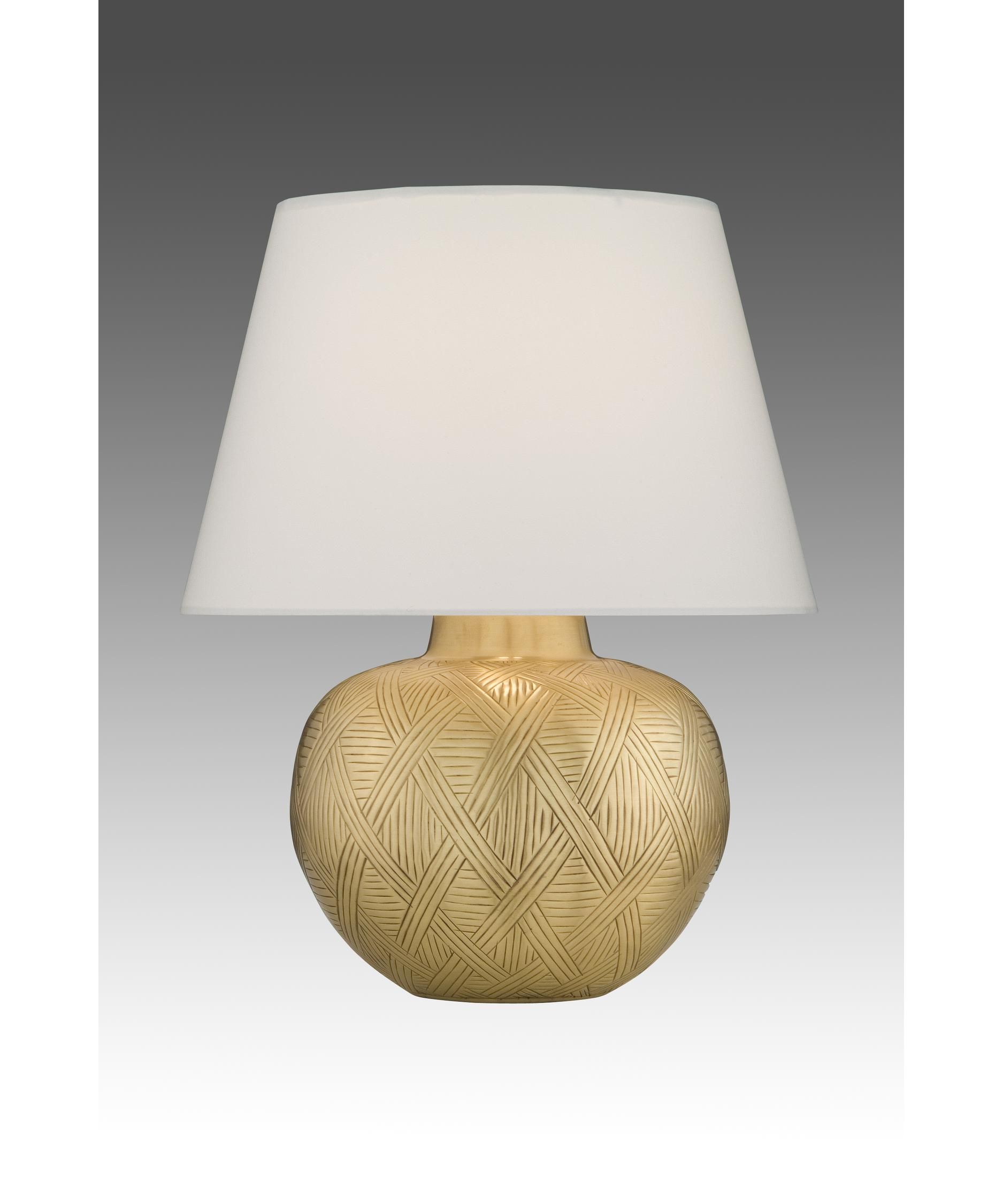 Remington Lamp 2276 Table Lamp In Hammered Brass Satin   Capitol ...