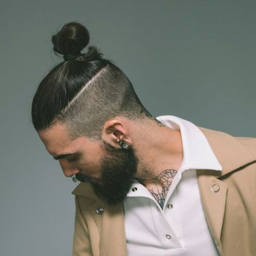 Cool Japanese Samurai Hair   Top Knot Hairstyle