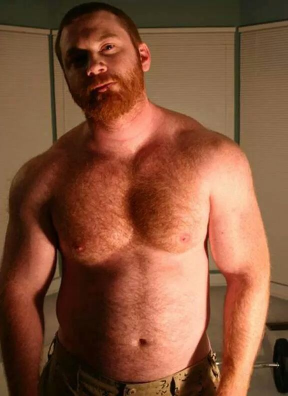 Red hairy men