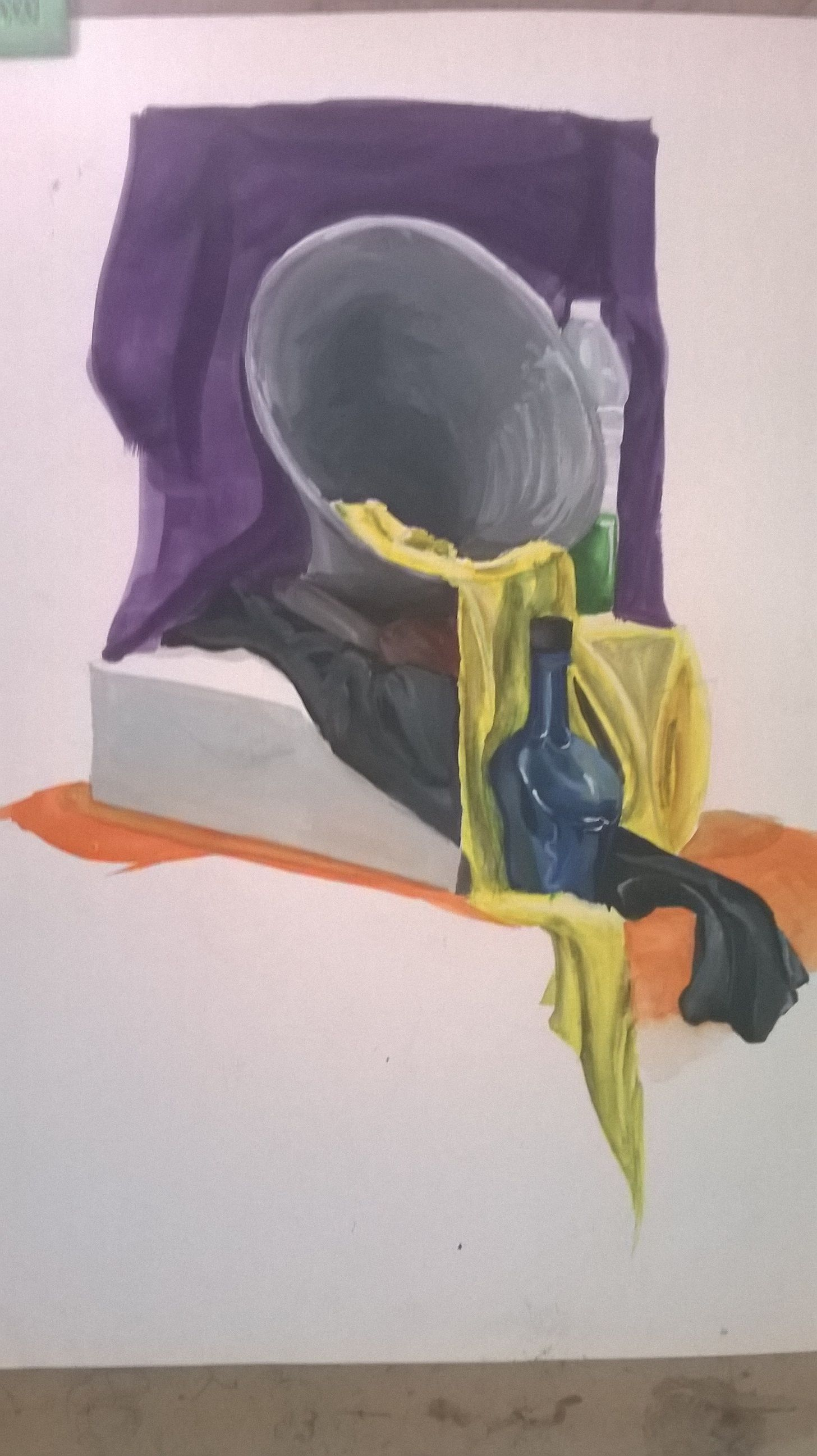 Poster Color Still Life Compositions Drawings Art Painting