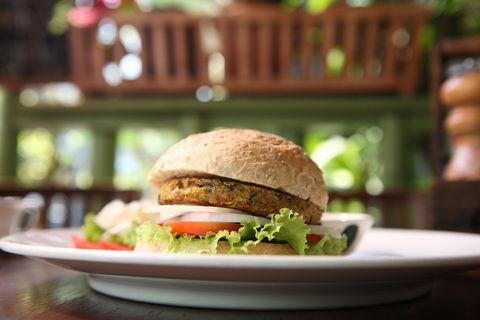 9. (Moringa) Malunggay burger