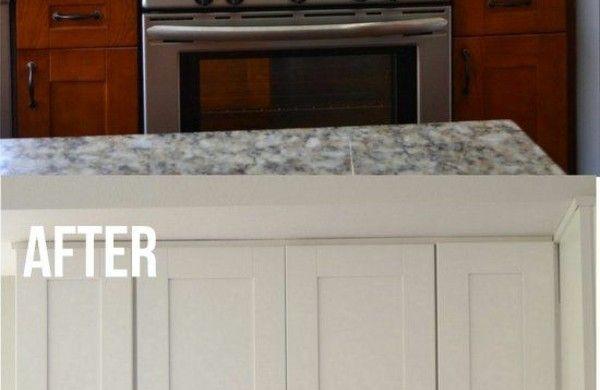 Küchenfronten Erneuern Holz Küchenschränke Neu Streichen In Weiß