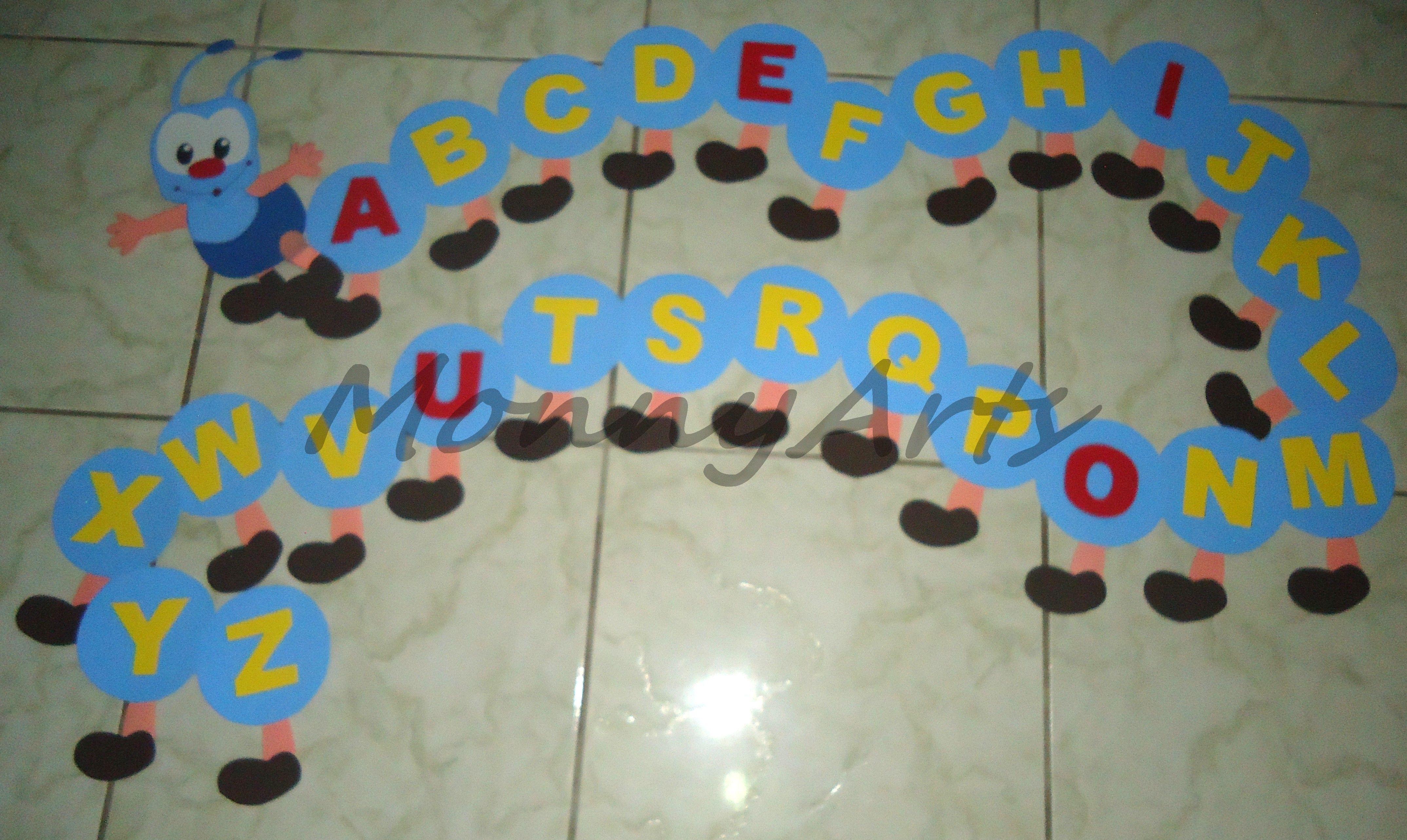 Decoracao Para Sala De Aula Alfabeto Centopeia Com Imagens