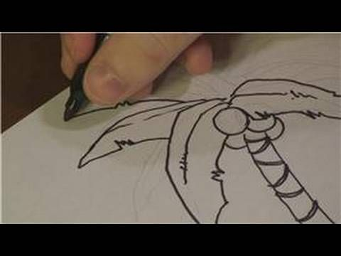 Drawing Lessons How To Draw Tropical Plants Drawing Lessons Tropical Plants Drawings