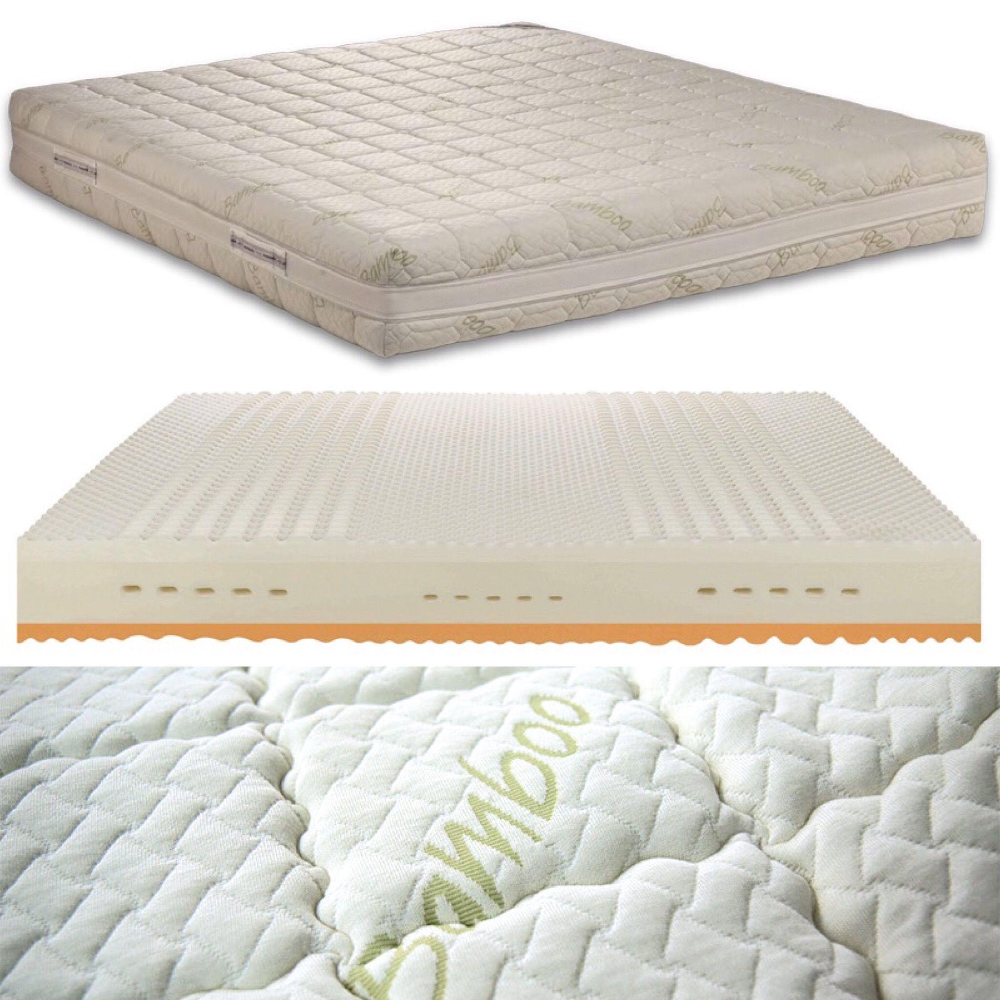 Ein Perfekter Liegekomfort Und Ein Optimales Schlafklima Bietet Ihnen Die Matratze Bamboo Deluxe Matratze Visco Matratze Tiefschlaf