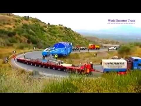 Biggest heavy equipment, biggest truck load ever, worlds biggest truck load