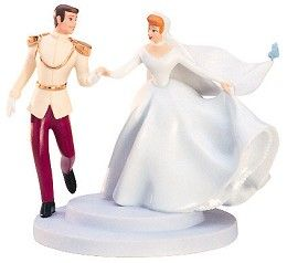 disney fairytale wedding cake topper wdcc disney classics cinderella and prince cake topper 13553