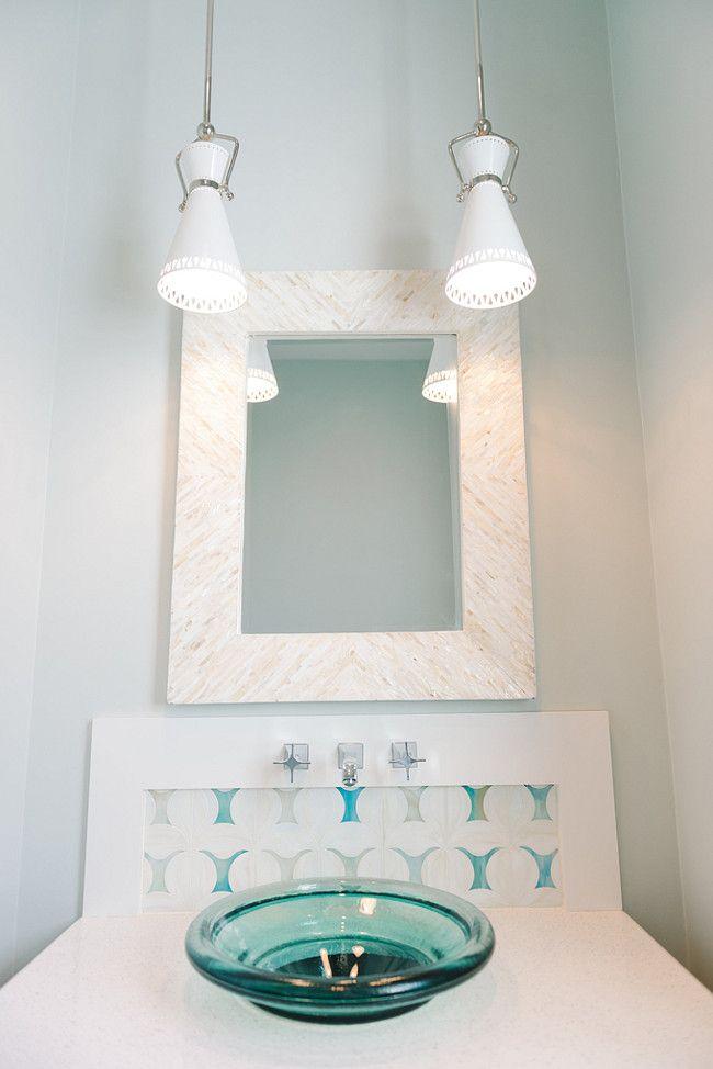 Inspiring Interior Paint Color Ideas - (Benjamin Moore Cool Breeze ...