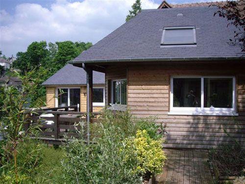 Extension architecte Emmanuel Lavallée Terrasse et jardin (et