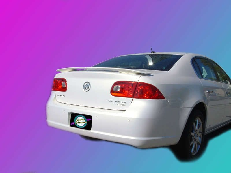 Buick Lucerne 2006 2010 Custom Style Spoiler Buick Lucerne Buick Vinyl Graphics