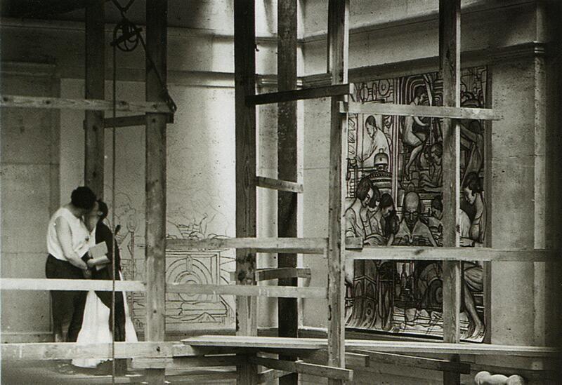 Frida Kahlo and Diego Rivera, Detroit, 1933