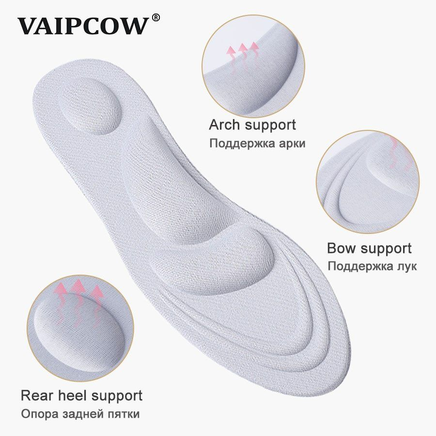 Super Memory Foam Orthotic Arch Insert Insoles Cushion Sport Support Shoe Pads