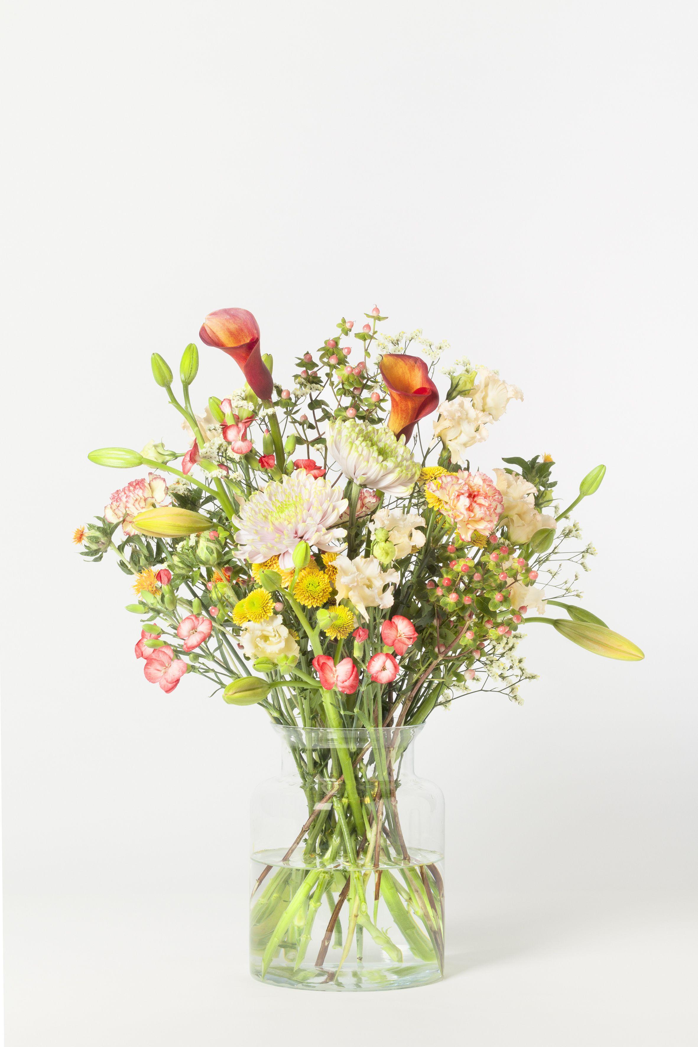 Herbstfeuer Blumen Pur Floral Bouquet