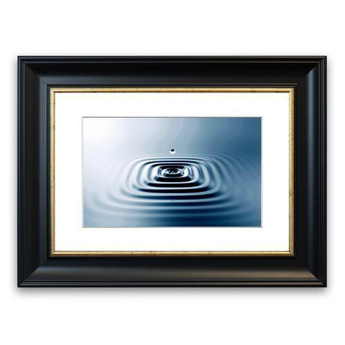 East Urban Home Square Water Ripples Cornwall Portrait Framed Wall Art #waterripples Square Water Ripples  Cornwall Portrait Framed Wall Art East Urban Home Size: 30 cm H x 40 cm W, Frame Options: Black #waterripples East Urban Home Square Water Ripples Cornwall Portrait Framed Wall Art #waterripples Square Water Ripples  Cornwall Portrait Framed Wall Art East Urban Home Size: 30 cm H x 40 cm W, Frame Options: Black #waterripples