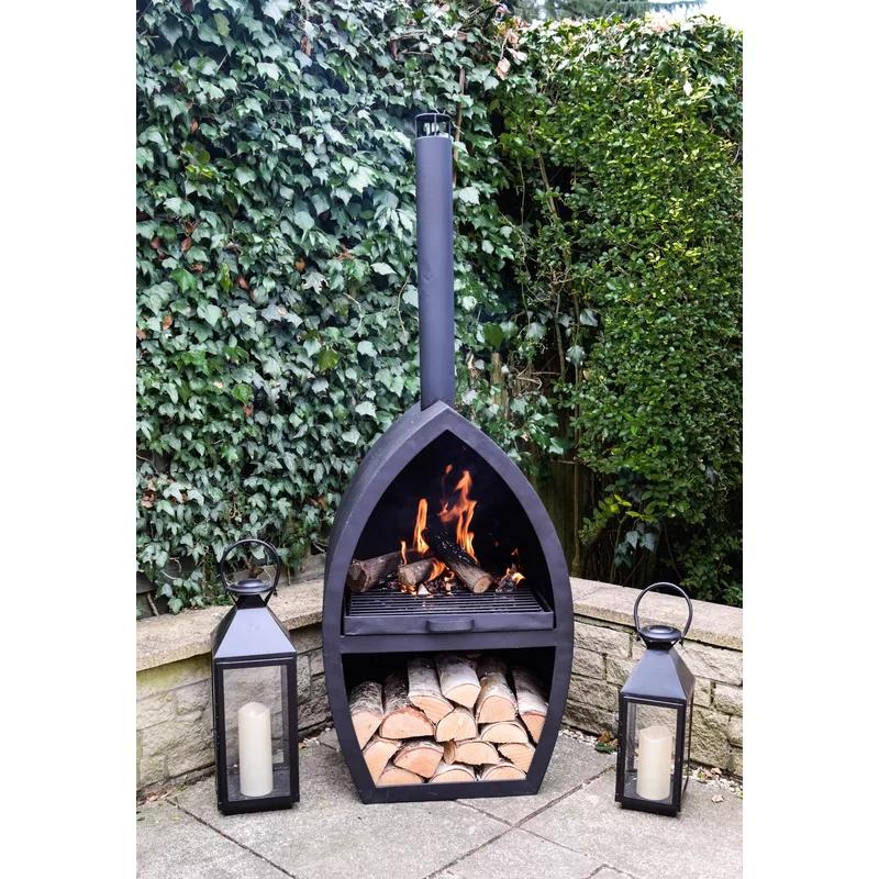 Garten Living Feuerofen Haverford Aus Gusseisen Bewertungen Wayfair De Diy Aussenkamin Outdoor Feuerstelle Gusseisen