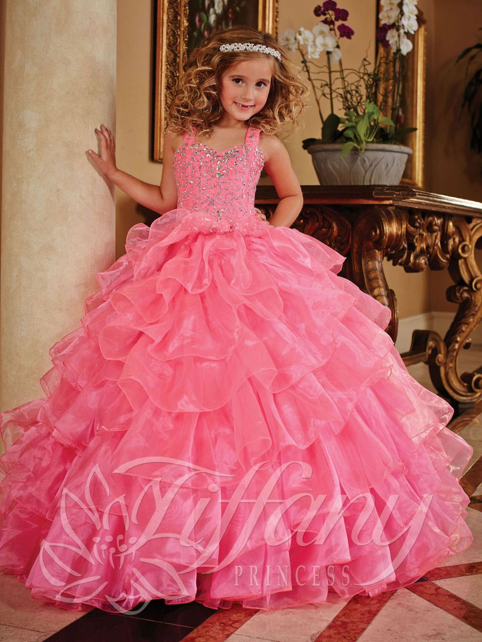 Blush Kids Inc. - Tiffany Princess 13379 Pageant Dress | Pageant ...