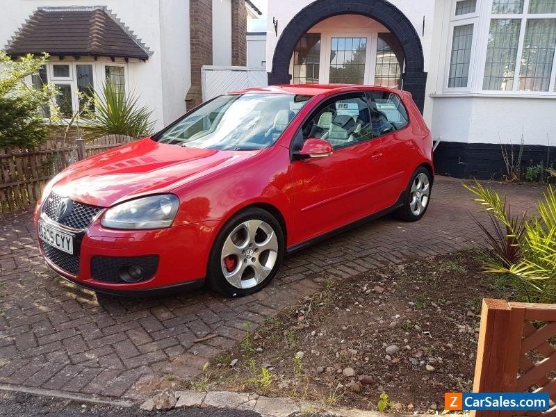 Car For Sale Volkswagen Golf Gti Mk5 Dsg 2 0 Red Full Vw Dealer S H