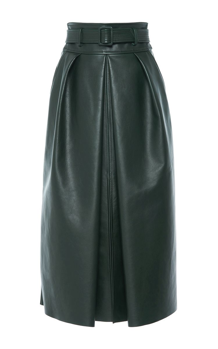 high waisted mini skirt - Green Matin C15Ahc