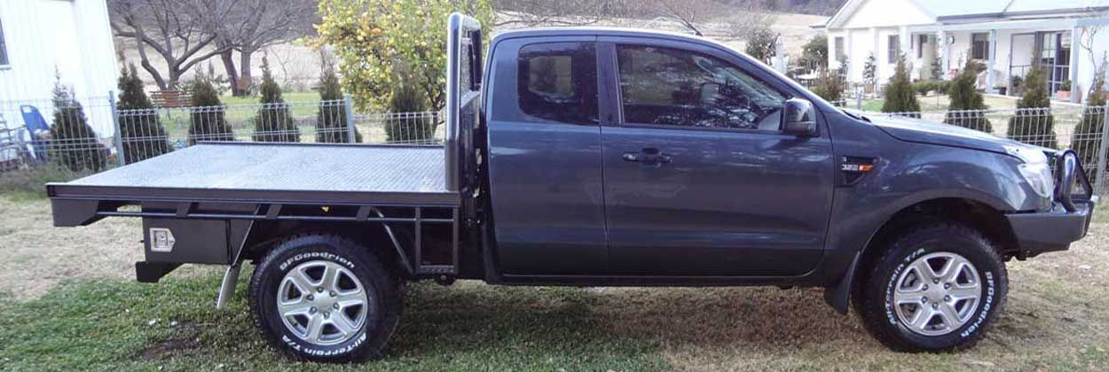 Ford Ranger Space Cab Ute Tray Body Made By Taurus Trays In Mudgee Nsw Australia Ute Trays Taurus Ford Ranger