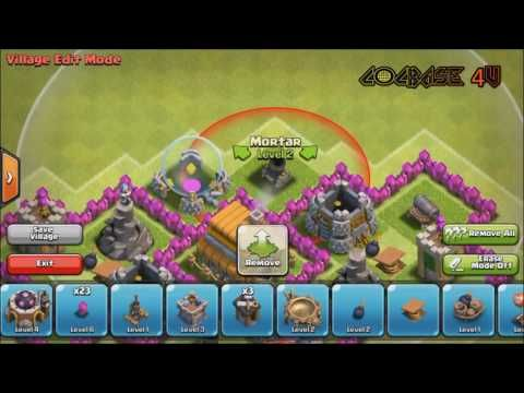 Clash of Clans - Town Hall 6 TH6 Trophy/War Base