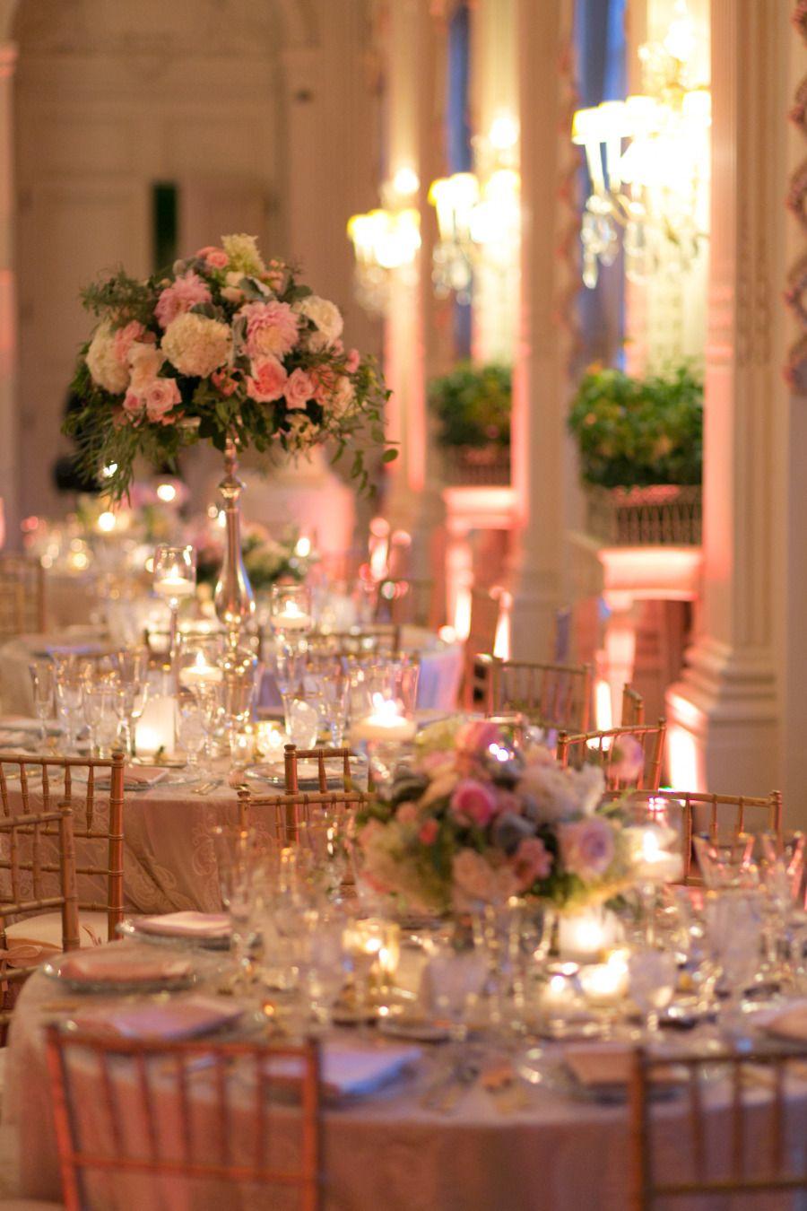 Glamorous rosecliff mansion summer wedding wedding