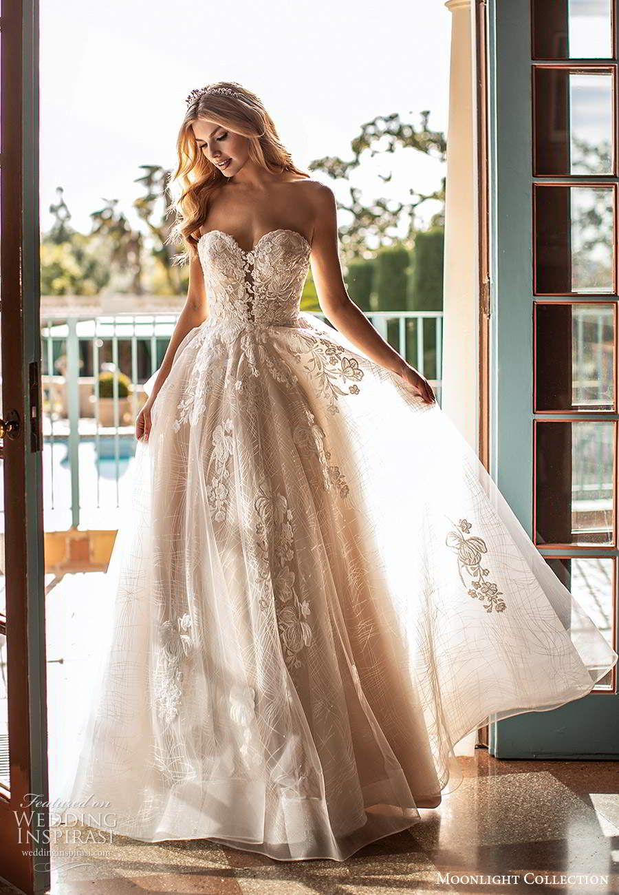Moonlight Collection Fall 2020 Wedding Dresses in 2020