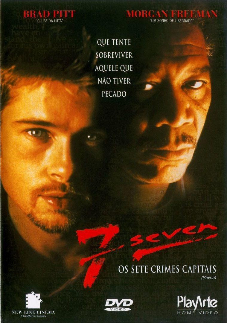 Seven Os Sete Crimes Capitais Seven Filme Posteres De Filmes Antigos Filmes