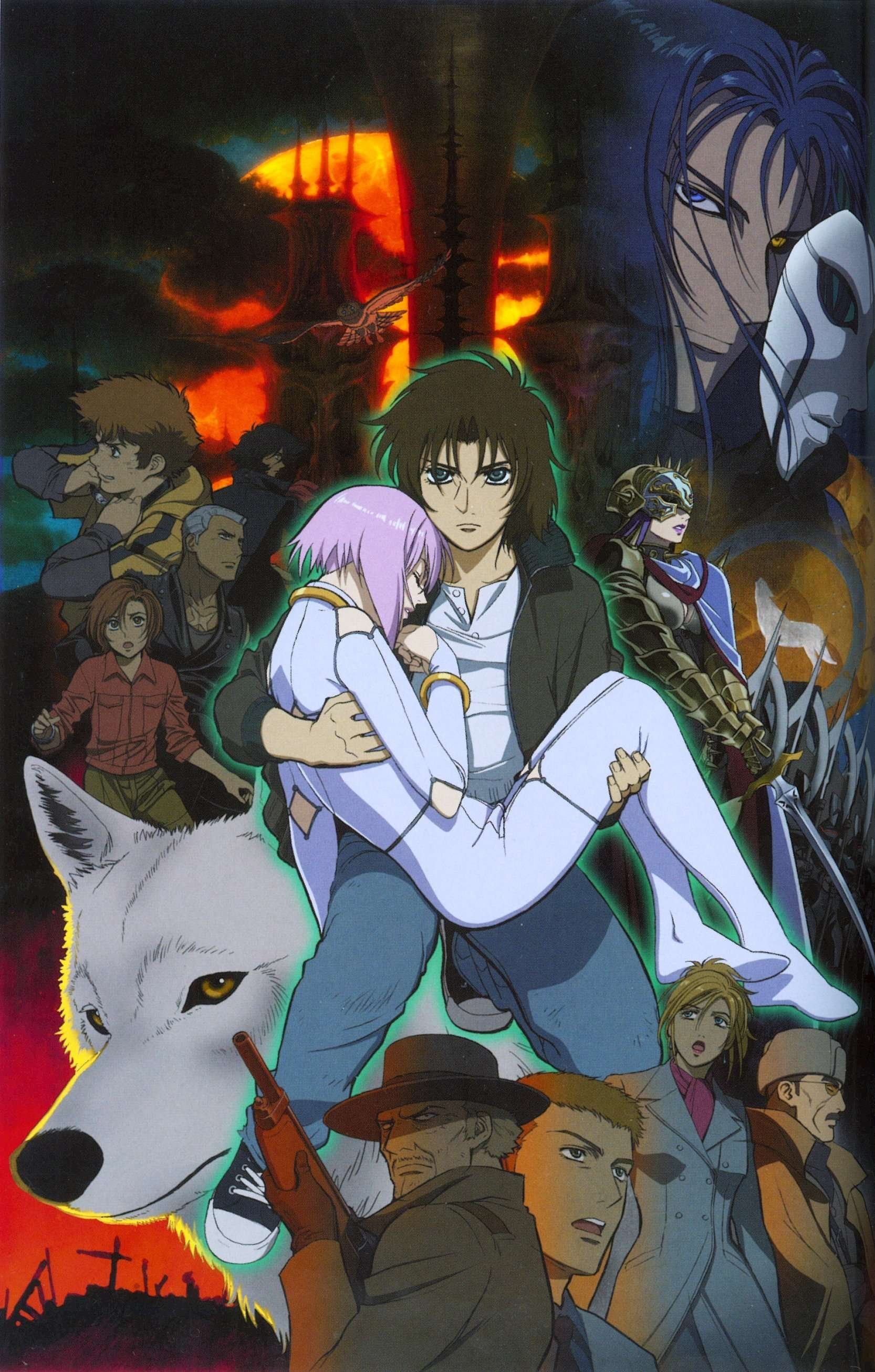 Pin by olga on wolfs rain wolfs rain anime wolf anime
