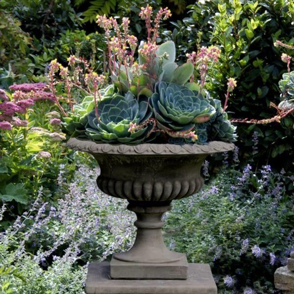 Pflanzschale Exeter Antik Patinierter Steinguss Aus England Das Gussmaterial Ist Eine Mischung A Gefunden Auf Www Cou Pflanzen Dekoration Pflanzschale