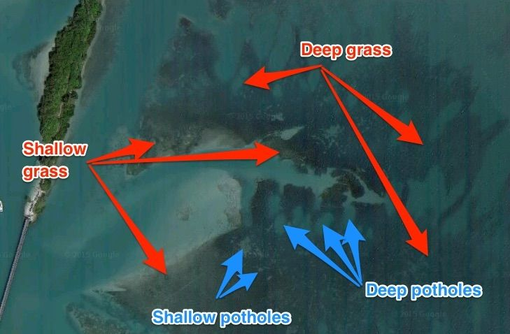 which is the best satellite map for new inshore fishing spots