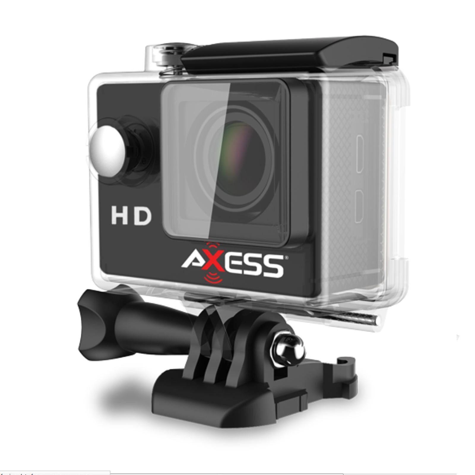Motorcycle Action Camera Helmet Waterproof Full HD Helm Cam Wide