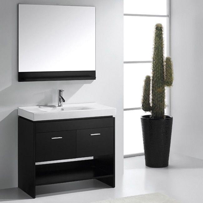 Picture Gallery Website Virtu USA Gloria inch Single Sink Bathroom Vanity Set