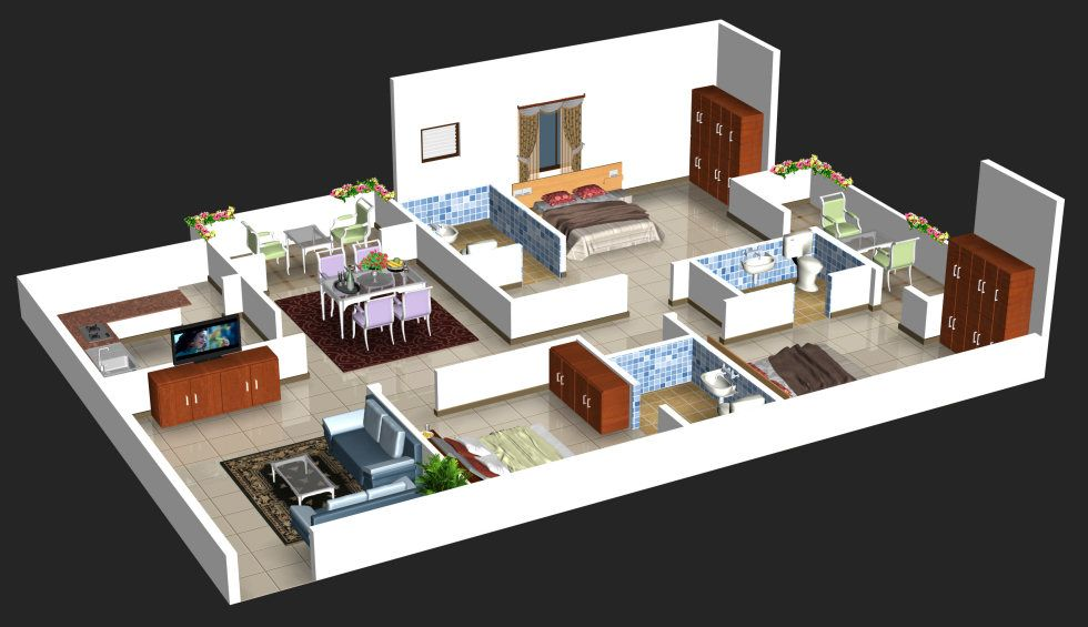 When You Are Packed Up With Visitors At Your Home Then Having A Separate Guest House Can Be The Be Dream House Plans House Designs Exterior Modern Floor Plans